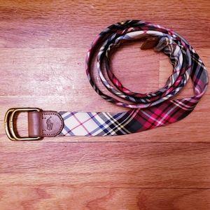 Polo multiple color belt